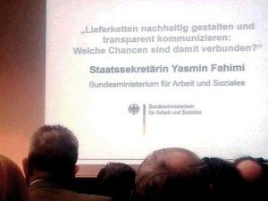 """BMAS-Fachkonferenz """"Lieferketten tansparent gestalten"""""""