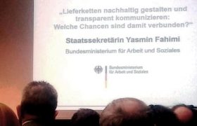 """BMAS-Fachkonferenz """"Lieferketten tansparent gestalten"""